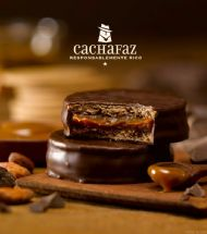 ALFAJOR CHOCOLATE CACHAFAZ