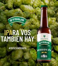 STRAUS SESSION IPA (SIN TACC)
