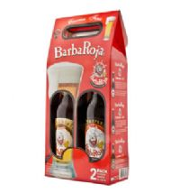 BARBA ROJA GIFT PACK X2 (BOTELLA 660CC)