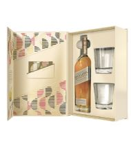 JOHNNIE WALKER GOLD LABEL RESERVE + 2 VASOS (RICHARD MALONE COLLECTION)