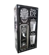 TEQUILA DF SILVER GIFT PACK CON 2 CHUPITOS