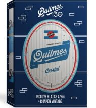 GIFT PACK QUILMES 473 X 6 SURTIDAS + CHAPON VINTAGE